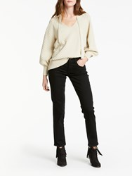 And Or Silverlake Straight Leg Jeans Black