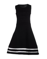 Cnc Costume National Short Dresses Black