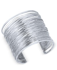 Inc International Concepts Wire Wrap Cuff Bracelet Only At Macy's Silver