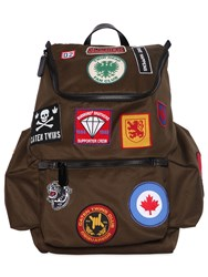 Dsquared Cotton Backpack W Patches