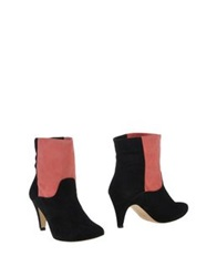 Ganni Ankle Boots Black