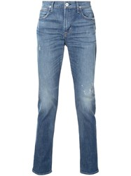 Hudson Relaxed Fit Five Pocket Jeans Blue