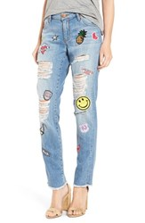 Sts Blue Women's 'Tomboy Skinny' Patched Jeans