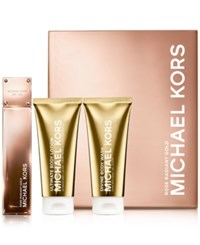 Michael Kors Collection Rose Radiant Gold Deluxe Gift Set No Color