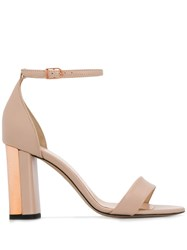 Marc Ellis Two Tone Heel Sandals Neutrals