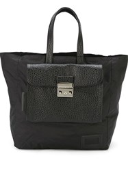 Andrea Incontri '2 In 1' Clutch And Tote Bag Black