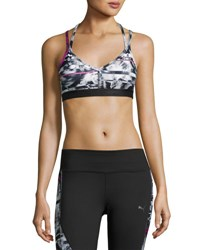 Puma Yogini Live Performance Sports Bra Multipattern Multi Pattern