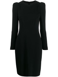 Paule Ka Structured Midi Dress Black
