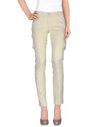 At.P. Co At.P.Co Trousers Casual Trousers Women Light Yellow