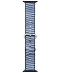 Apple Watch 38Mm Woven Nylon Midnight Blue Check