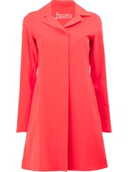 Herno Flared Hem Coat