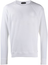 Tom Ford Relaxed Fit Sweatshirt White