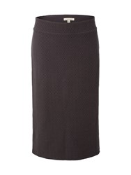 White Stuff Textured Susan Skirt Grey