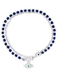 Astley Clarke 'Evil Eye Biography' Bracelet Blue
