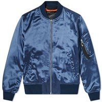 Rag And Bone Manston Bomber Jacket Blue