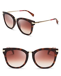 Toms Adeline Sunglasses Tortoise Brown Gradient