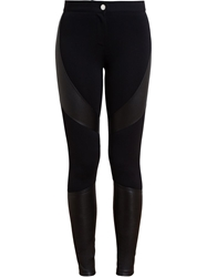 Givenchy Panelled Leggings Black