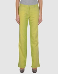 Trussardi Sport Casual Pants Acid Green