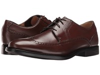 Dockers Robertson Chili Burnished Full Grain Men's Lace Up Casual Shoes Brown