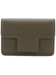 Tom Ford Accordion Style Card Holder Green