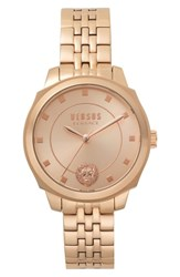 Versus By Versace Chelsea Bracelet Watch 34Mm Rose Gold