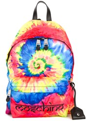 Moschino Tie Dye Backpack