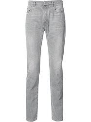 Maison Martin Margiela Slim Washed Jeans Grey