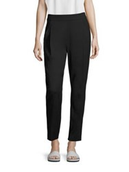Vince Pleated Track Trousers Black