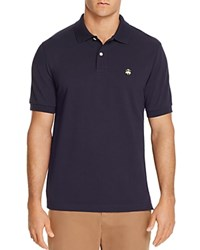 Brooks Brothers Slim Fit Pique Polo Shirt Navy