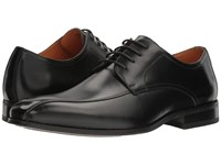 Florsheim Corbetta Bike Toe Oxford Black Smooth Men's Dress Flat Shoes