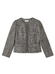 Precis Petite Jeff Banks Tweed Jacket Multi Coloured Multi Coloured