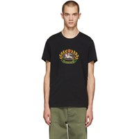 Burberry Black Gully T Shirt