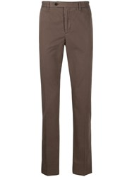 Hackett Slim Fit Chino Trousers Grey