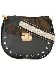Furla Hobo Crossbody Bag Black