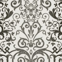 Versace Herald Motif Wallpaper Black White 93545 2