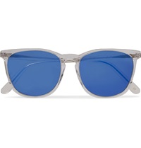 L.G.R D Frame Acetate Sunglasses Blue