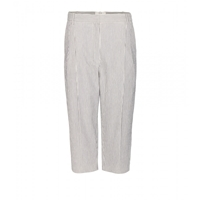 Vanessa Bruno Charif Cropped Cotton Blend Trousers