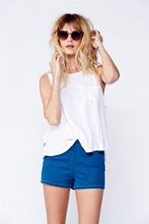 Free People Side Zip High Rise Short