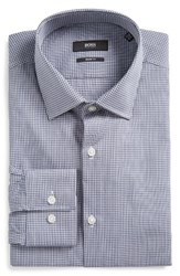 Hugo Men's Boss Marley Sharp Fit Check Dress Shirt