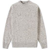 Inis Meain Donegal Crew Knit Neutrals