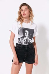 Urban Outfitters Twin Peaks Agent Cooper Tee White