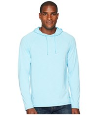 Tommy Bahama Ocean Tides Performance Hoodie Bowtie Blue Clothing
