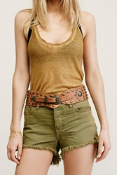 Free People Womens Denver Studded Belt