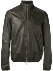 Emporio Armani Zip Up Jacket Green
