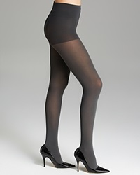 Dkny Tights Opaque Coverage Control Top 412Nb Flannel Grey