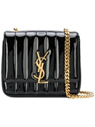 Saint Laurent Small Vicky Chain Bag Black