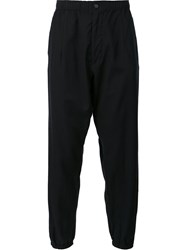 Engineered Garments Casual Elasticated Cuff Trousers Black