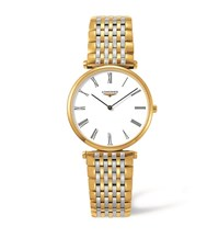 Longines La Grande Classique Bicolour Watch Unisex White