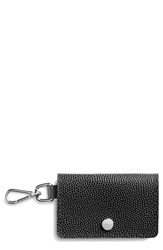 Shinola Women's Latigo Leather Card Case Black