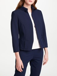 Bruce By Bruce Oldfield Short Fitted Jacket Blue